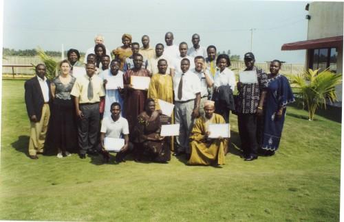 Formation des opérateurs de microfinance sur la gestion du crédit à Lomé,  décembre 2003