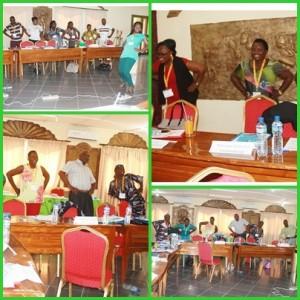 Formation sur la conception et la mise en œuvre d'un des groupes d'épargne, Lomé-Togo, Septembre 2016