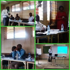 Participants aux sessions de  formation de  UCAC / Cameroun