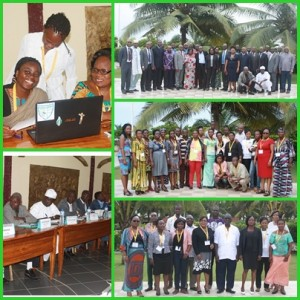 Lome training sessions participants